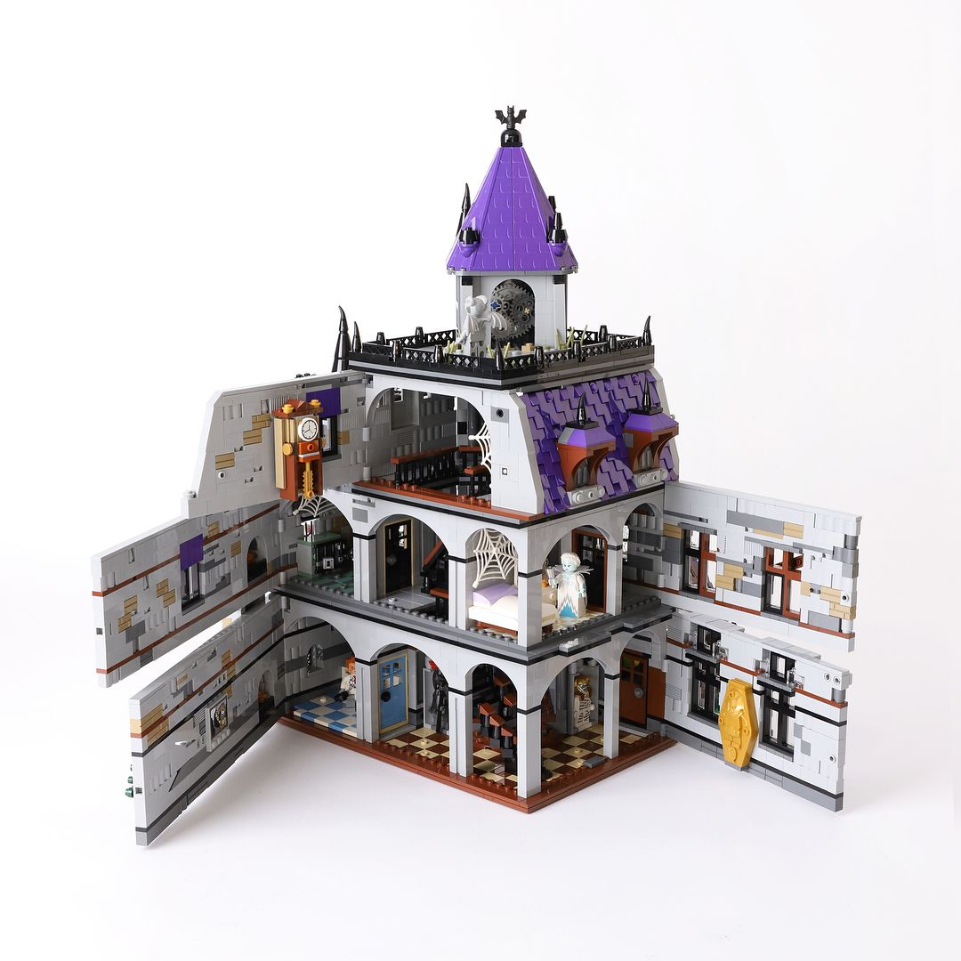 Scooby Doo Mystery Mansion Lego Legostagram Legocreator