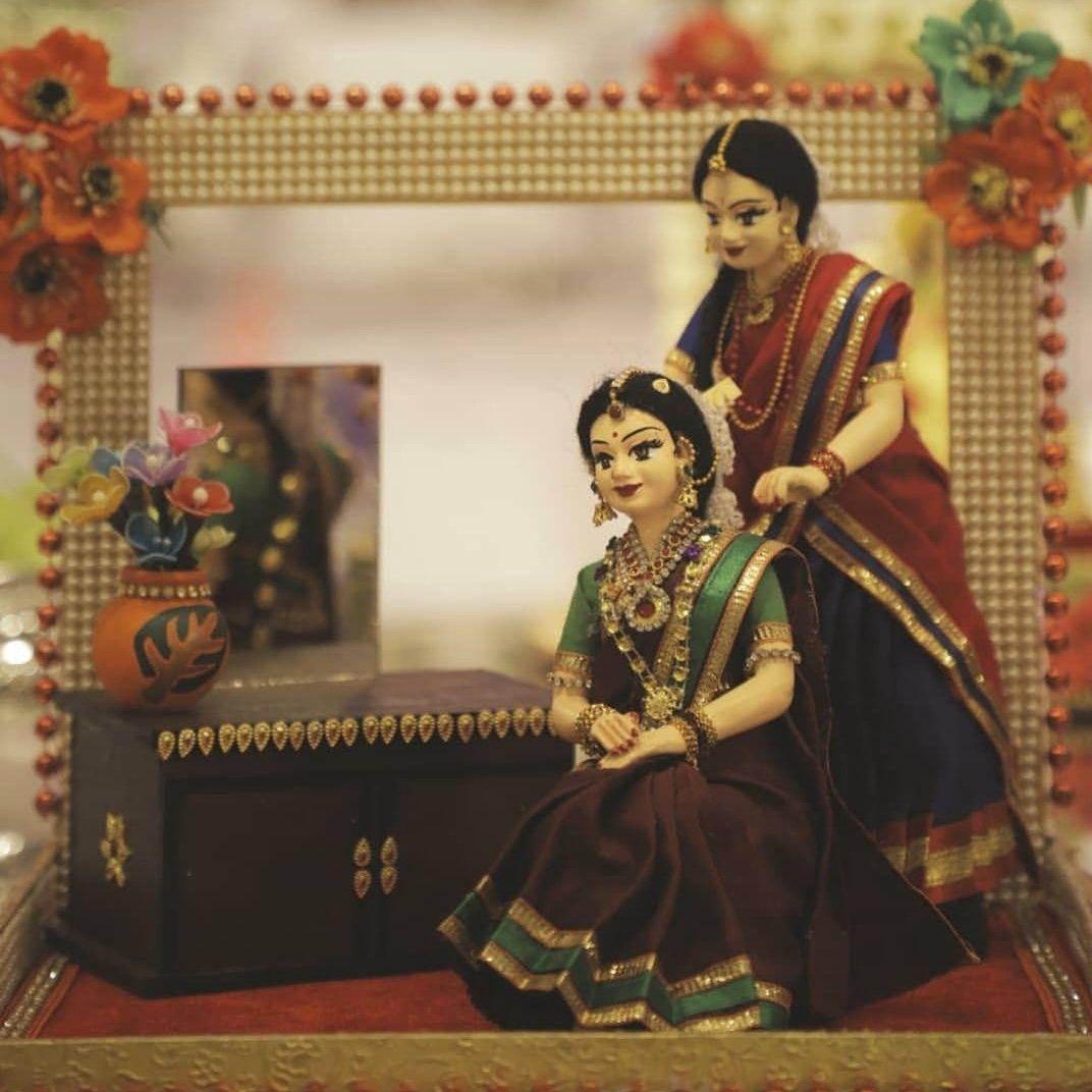 Cute bridal dolls indian wedding gifts wedding gifts