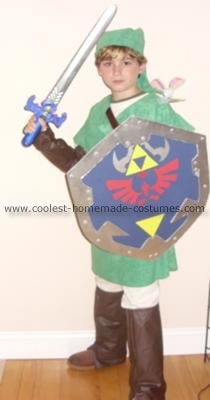 Coolest Homemade Link from the Legend of Zelda Costume  sc 1 st  Pinterest & Coolest Homemade Link from the Legend of Zelda Costume | Costumes ...