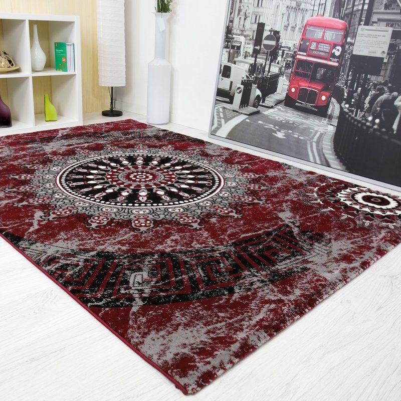 Epherus Red Area Rug Rugs, Area rugs, Rug world