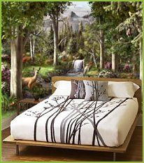 What A Great Mural For A Theme Room Woodland Bedroom Woodland Bedroom Decor Fairy Bedroom