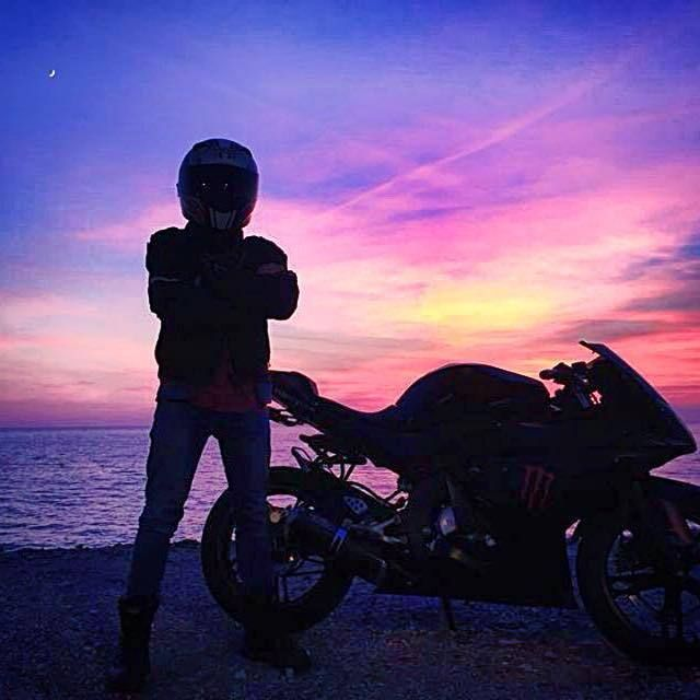 #Motorcycle #Sky #Sunset #Sea  - Follow @extremegentleman for more pics like this!
