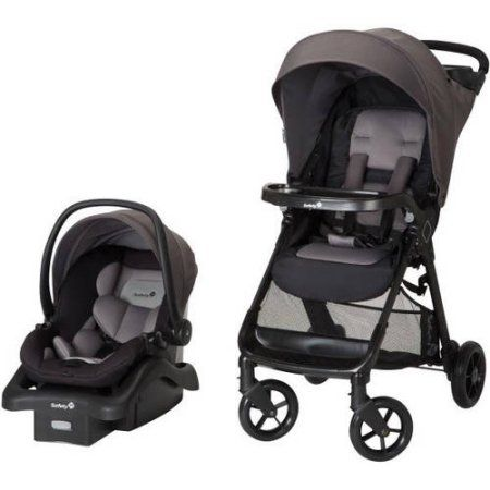 Safety 1st Smooth Ride Travel System, (Choose your Color), Gray ...