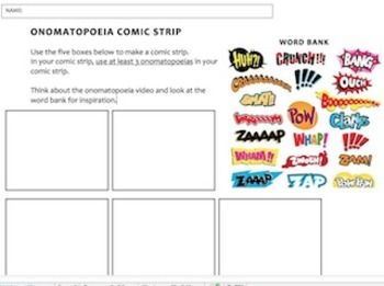 Worksheets Onomatopoeia Worksheet 1000 images about onomatopoeia on pinterest english language and student
