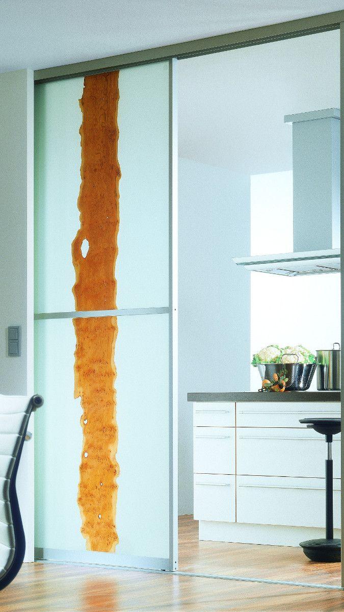 Zimmertur Mit Glas Zum Schieben Nach Mass Schiebetur Kuche