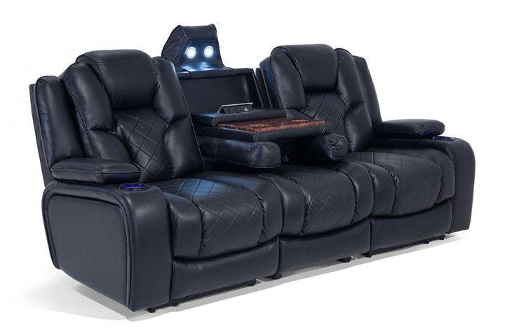 Gladiator Dual Power Reclining Sofa Next Big Furniture