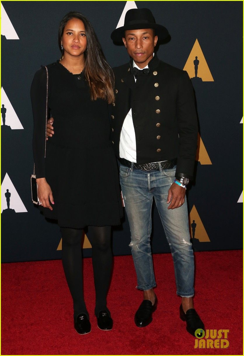 d6e032e43a107 Pharrell Williams   Wife Helen Lasichanh Welcome Triplets!