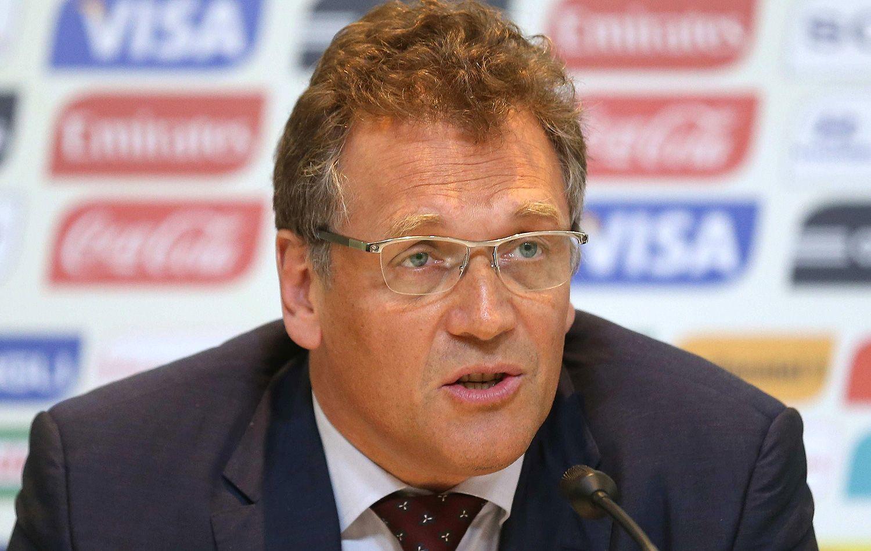Valcke: 'Menos democracia, às vezes, é melhor para organizar uma Copa'