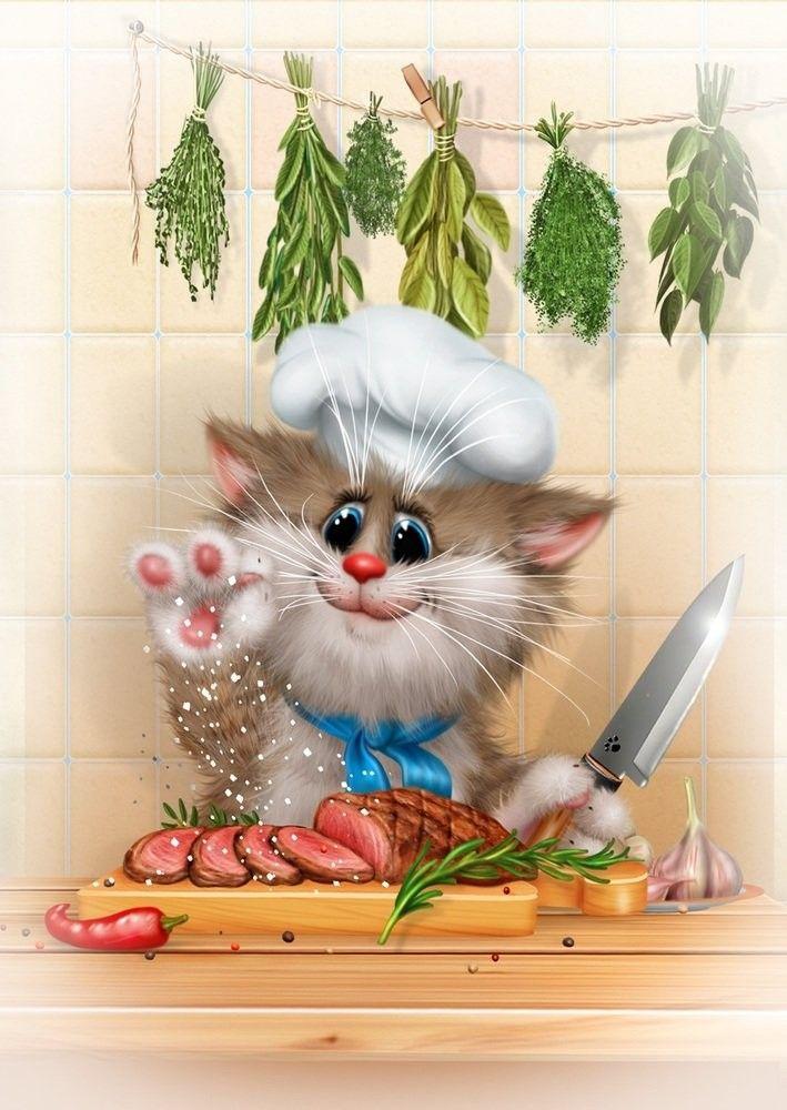 незаращение картинка котик повар поинтересовались, как