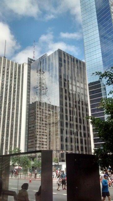 Reflexo Da Torre Da Gazeta Sao Paulo Br Reflexao E Sao Paulo