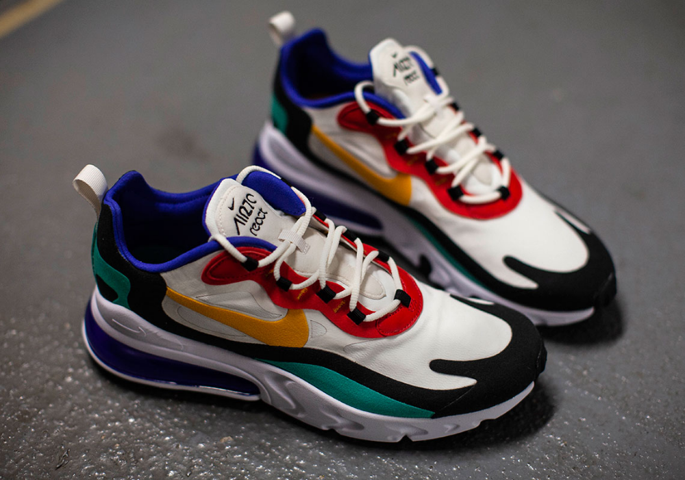 Nike Air Max 270 React Ao4971 002 At6174 002 Release Date En 2020 Zapatos Gratis Nike Zapatillas Nike Para Hombre Zapatos Tenis Para Mujer