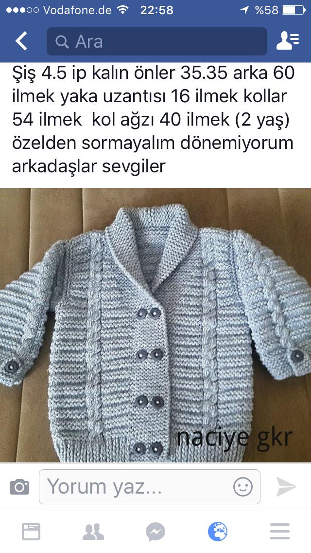 Pin de Alije Kapxhillari en baby | Pinterest | Sueter dos agujas ...