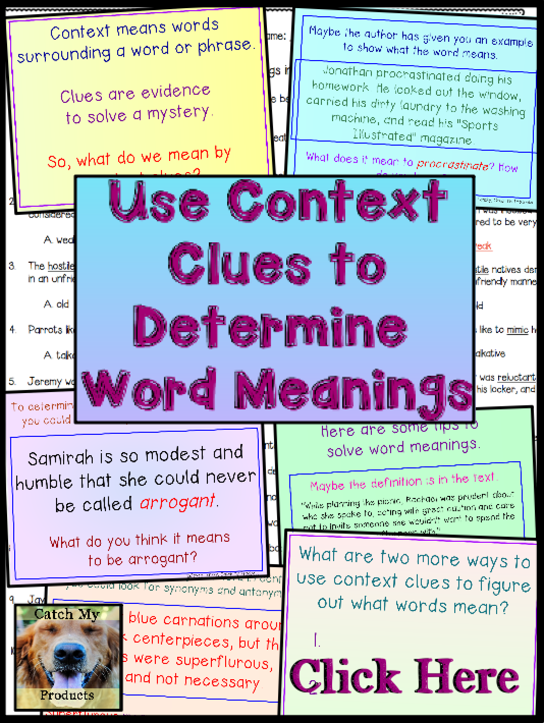 Context Clues Worksheet And Lesson