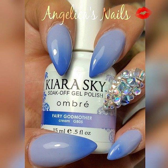 KIARASKYNAILS Fairy Godmother Ombre gel polish | Stilettos ...