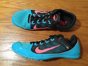 Nike Racing Shoes Rival MD Women's size 7.5 Pink and Black Track & Field Racing