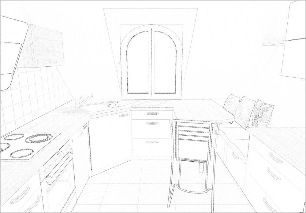 Küche planen Teil 3 alternativer Entwurf der neuen KücheJede - neue küche planen