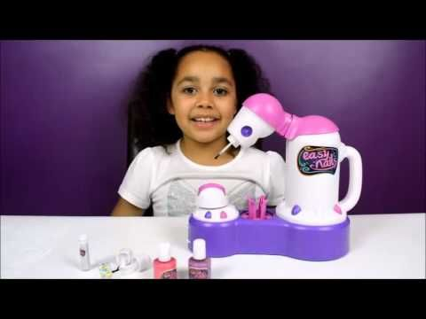 Disney Pixar Cars Easy Nails Nail Spa _ Tutorial _ Kids Toy Review