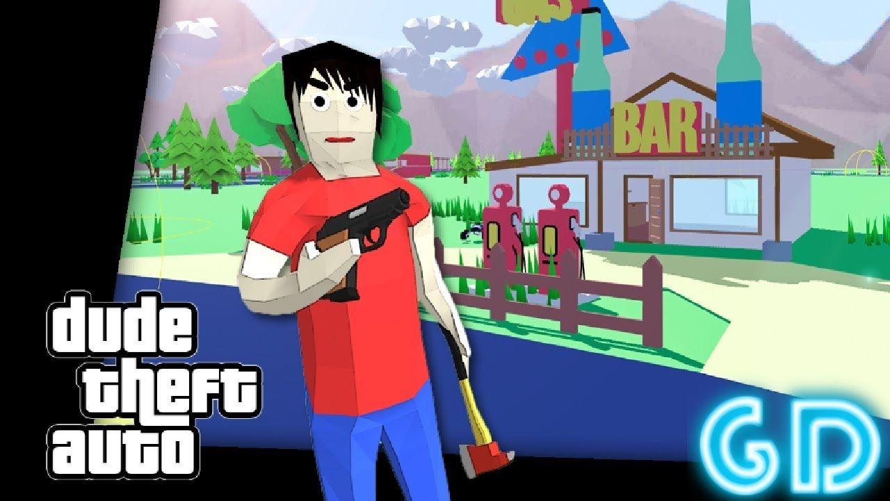 Dude Theft Auto Open World Sandbox Simulator Gameplay