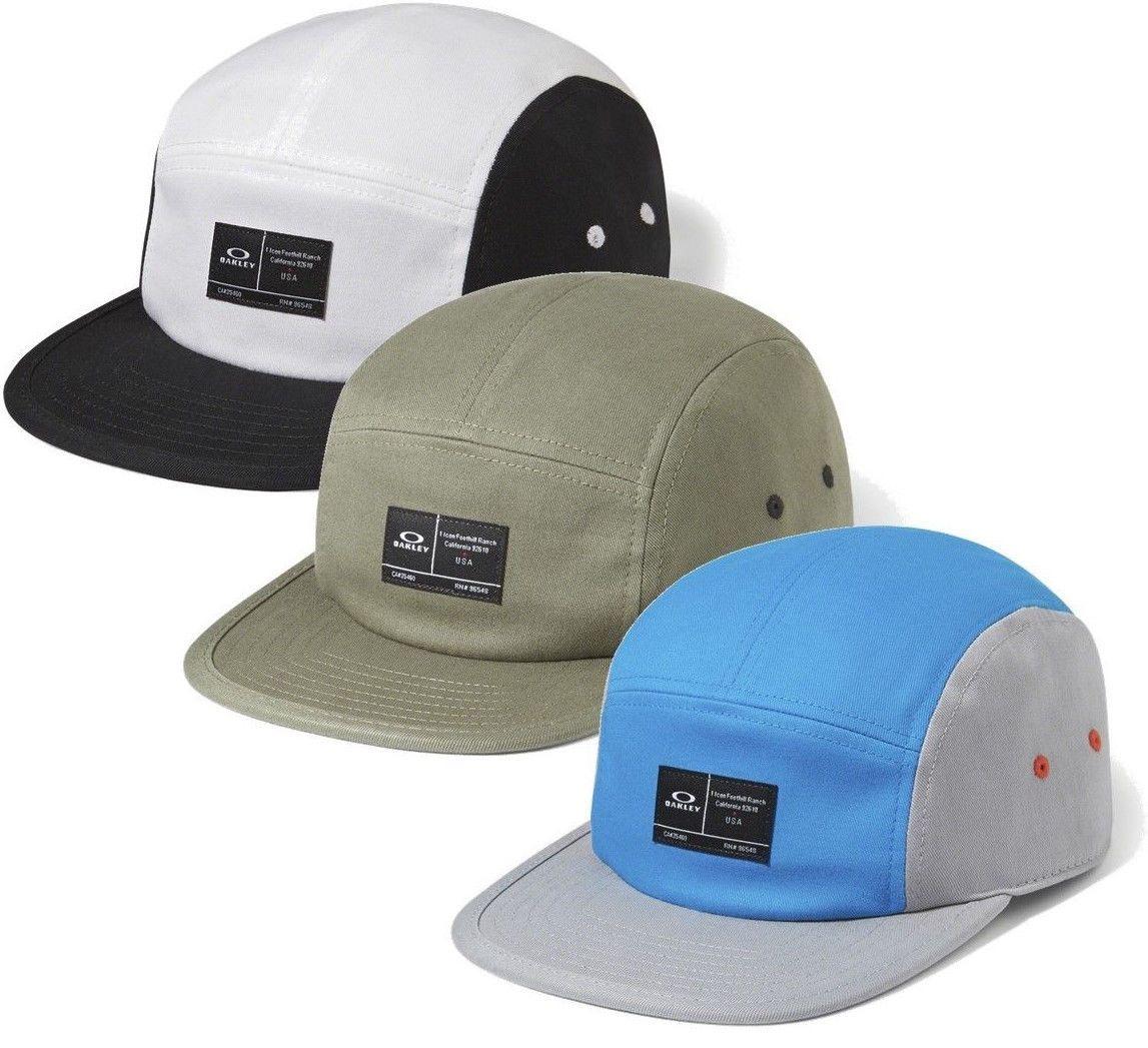 c3ac8d5585c Oakley Men s Latch 5 Panel Camper Hat Cap
