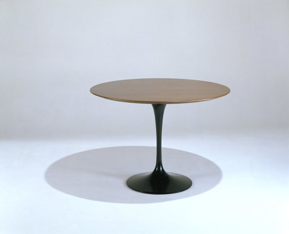 The Knoll Saarinen Large 60 Inch Round Dining Table Is A
