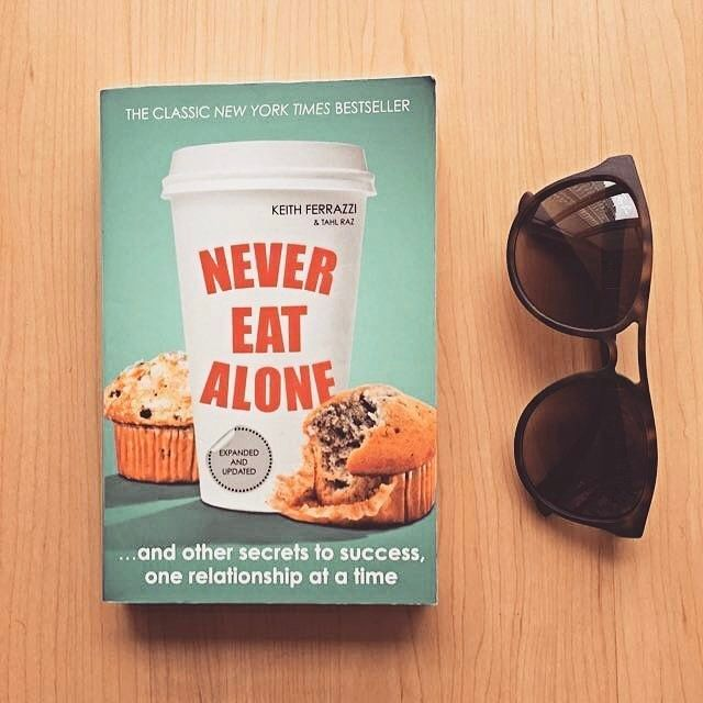 Today's Pick: Never Eat Alone by Keith Ferrazzi!  Tag someone you need to eat with soon!  Follow @clubgreatness  @project_668