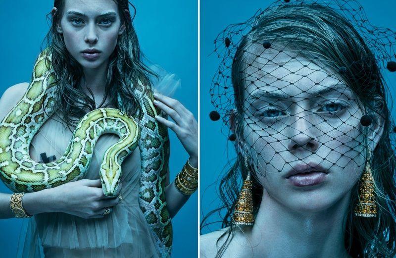 Photo of Lauren de Graaf is A Snake Charmer for Citizen K International – Lauren de Graa …