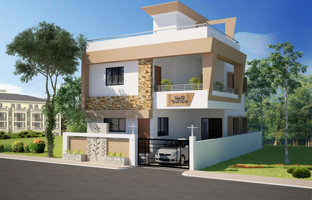 Pin by Raksha on House | House design, Front elevation ...