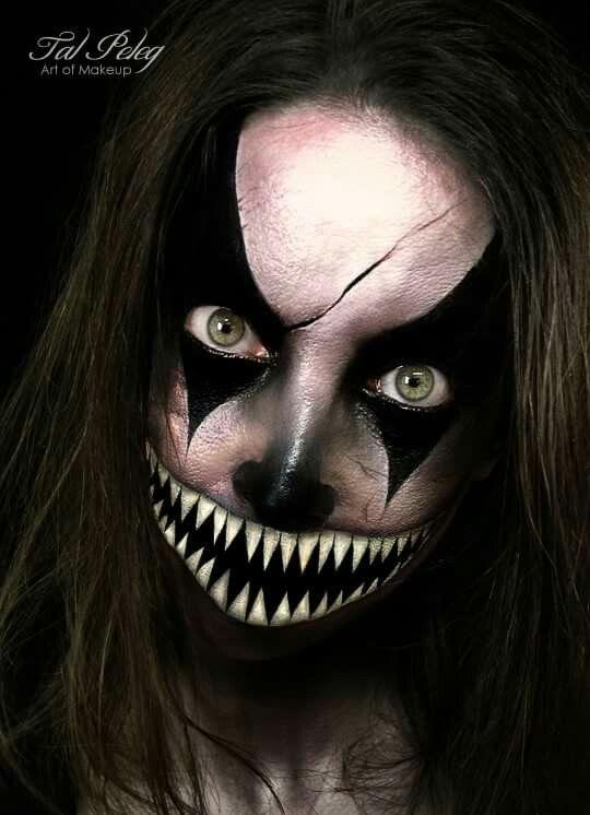 Halloween make up maquillaje terror Pinterest Makeup