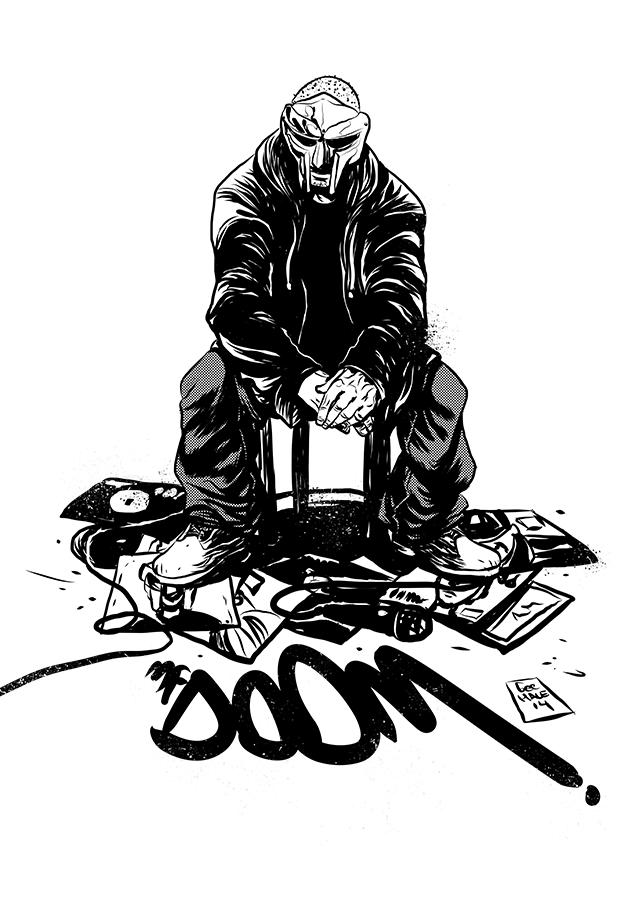 All Caps When You Spell The Man S Name Mf Doom Hip Hop Artwork Hip Hop Art Hip Hop Illustration