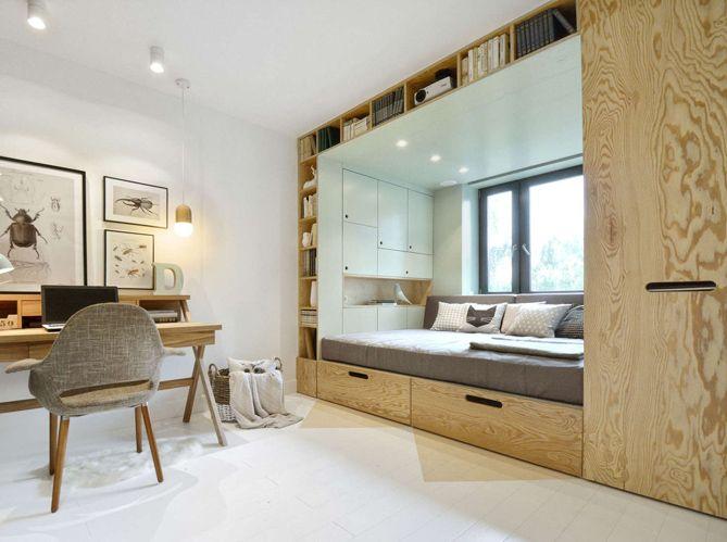 Lit int gr gain de place 5 lits qui s 39 int grent - Gain de place appartement ...