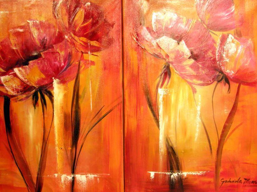 duo de flores by gabriela mensaque flores