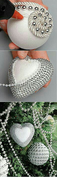 Baubles, string of beads... (xmas holidays ornaments)