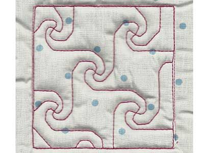 "This free embroidery design is a ""Trapunto Quilt Block"". Download ... : free quilt embroidery designs - Adamdwight.com"