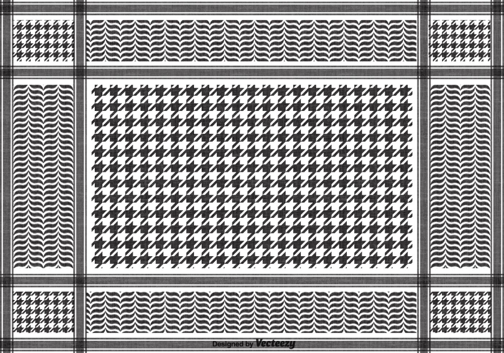 Download Free Vector Black Keffiyeh Pattern Vector Art Choose From Over A Million Free Vectors Clipart Graphics Vector Vector Art Design Vector Free Vector
