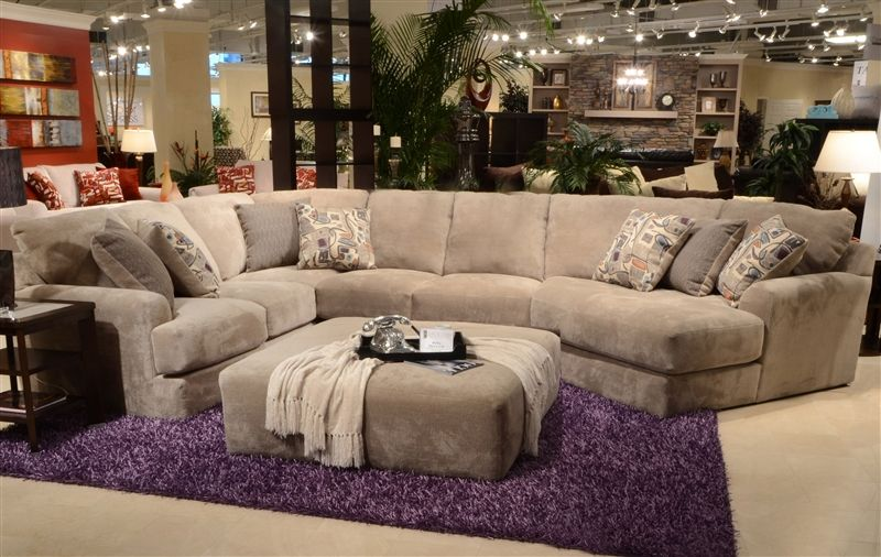 Prime Malibu 3 Piece Sectional In Taupe Chenille Fabric By Jackson Onthecornerstone Fun Painted Chair Ideas Images Onthecornerstoneorg