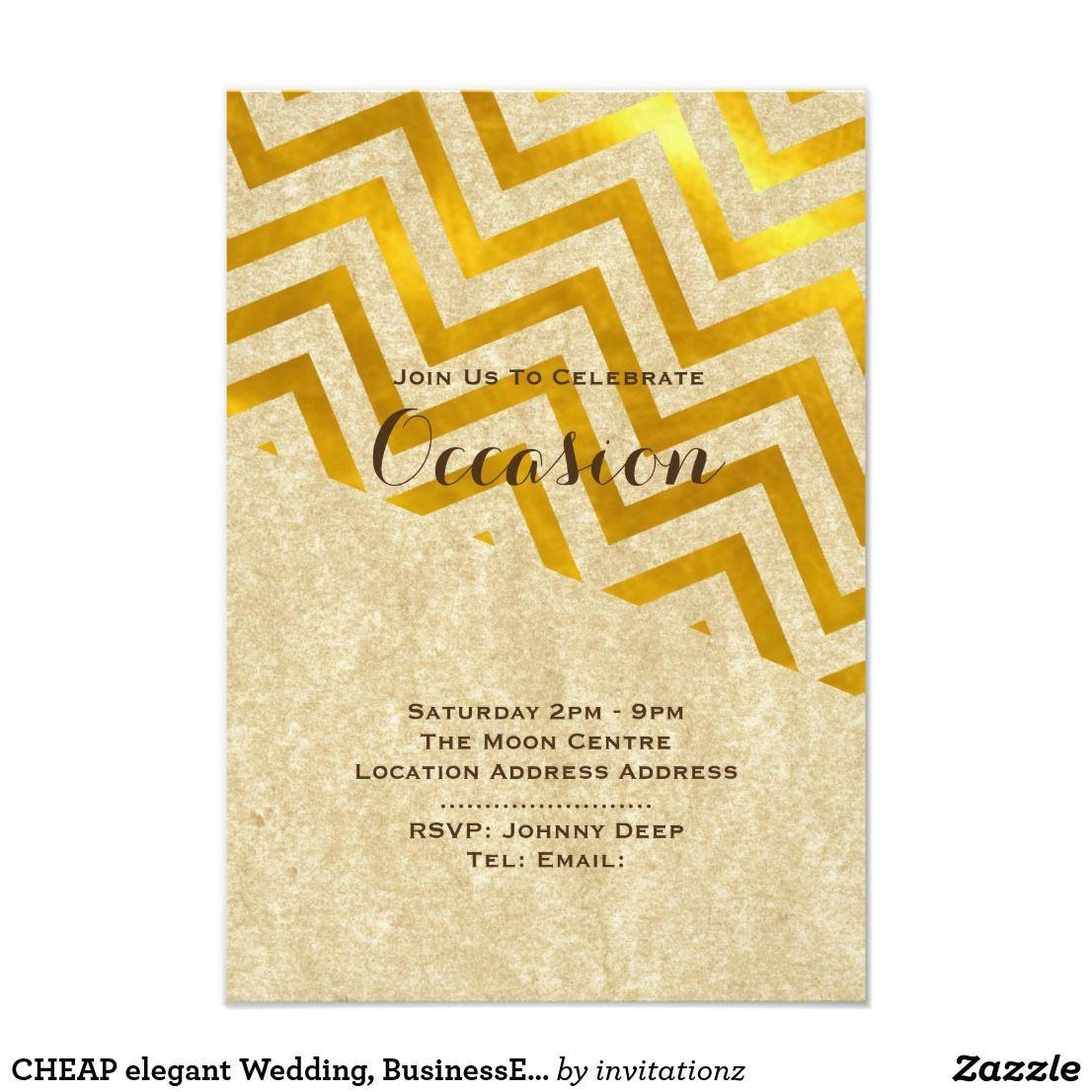 Wedding decorations to make february 2019 CHEAP elegant Wedding BusinessEvent Invites Gold  Trending Wedding