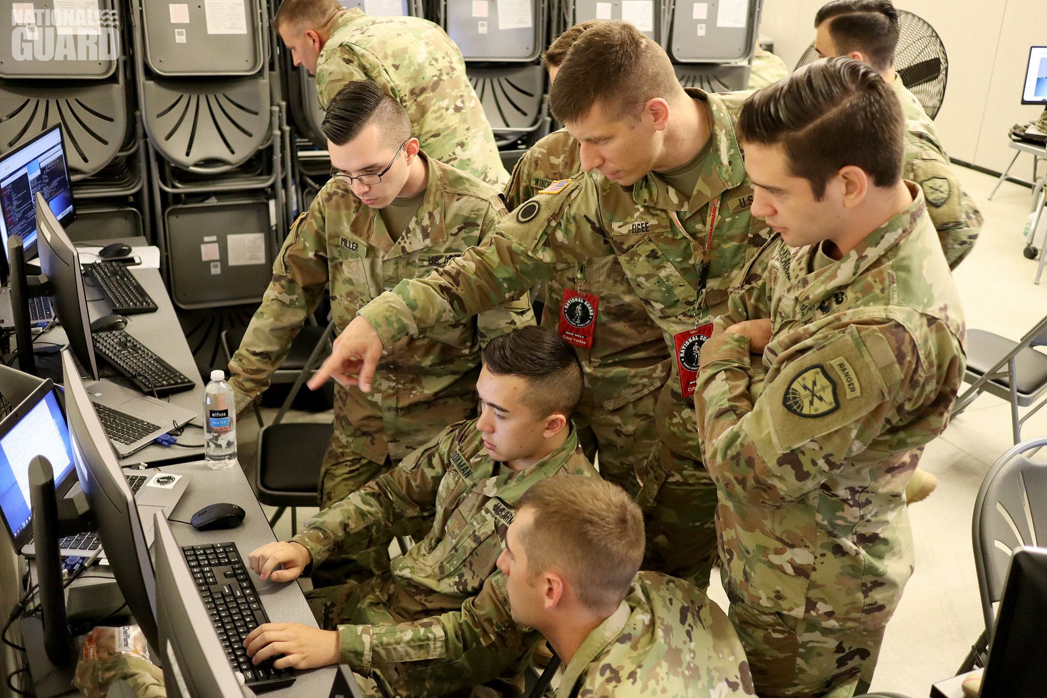 Warfare in the digital age has a new front line—cyberspace