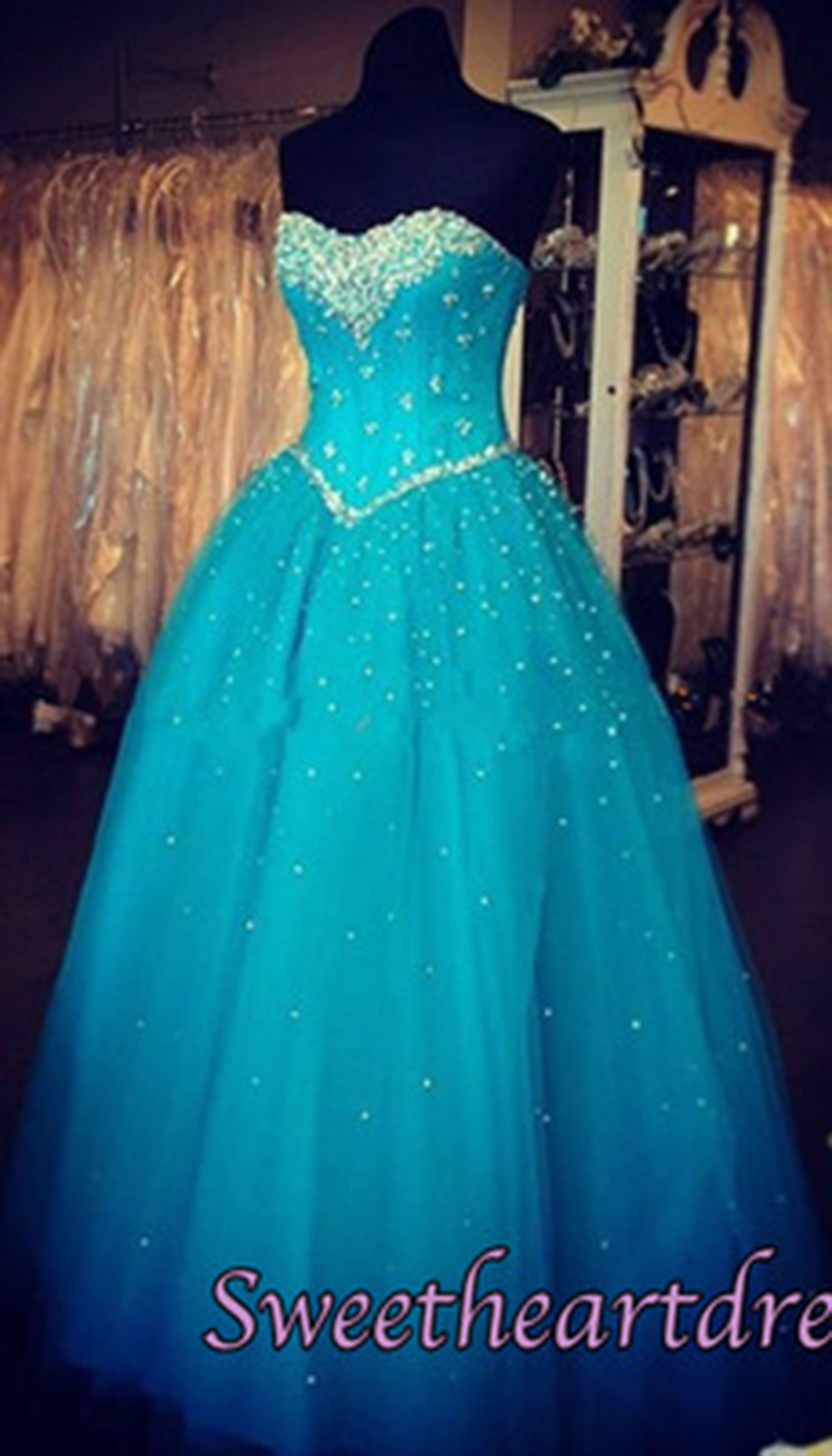 disney inspired prom gown itus a blue tulle poofy prom dress