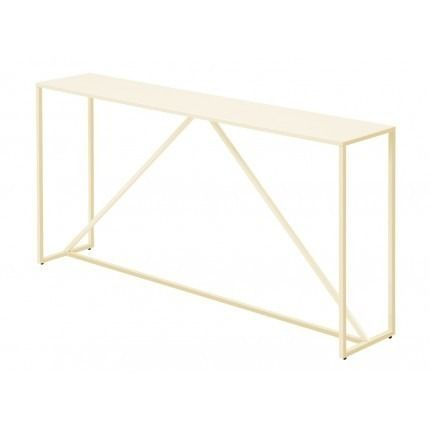 Interiors Strut Console Table Ivory By Blu Dot