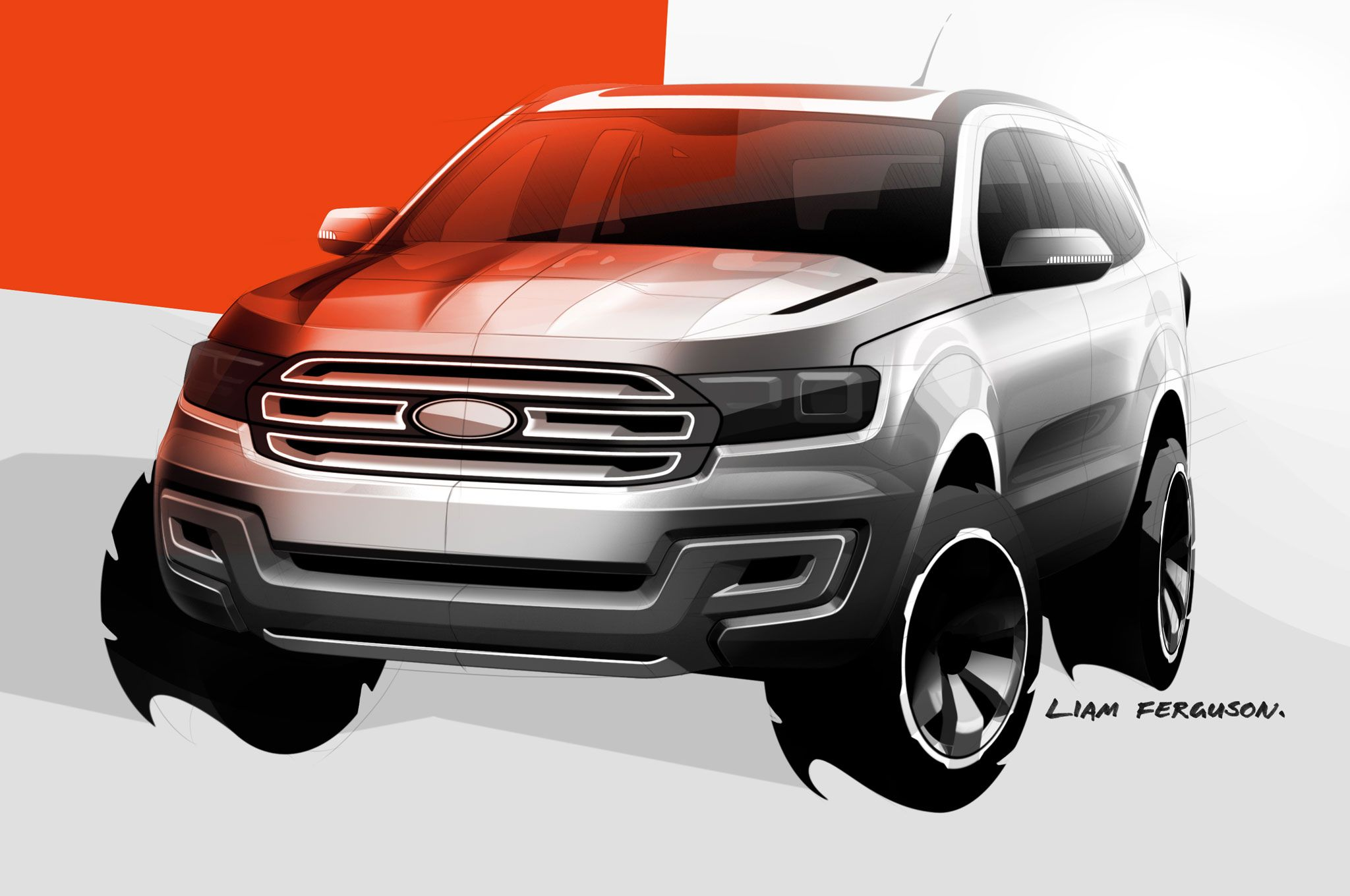 Ford Everest Concept Suv Sketch Jpg Sketches