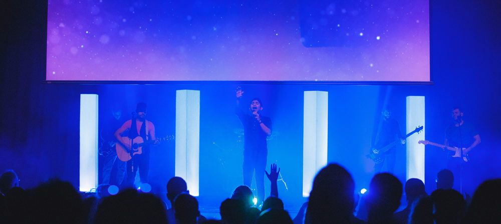 4 beacons church stage design ideas - Stage Design Ideas