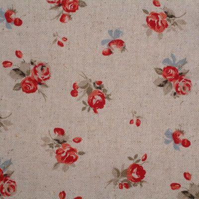 SB Sevenberry Linen Antique Rose 1/2 METRE - view 2