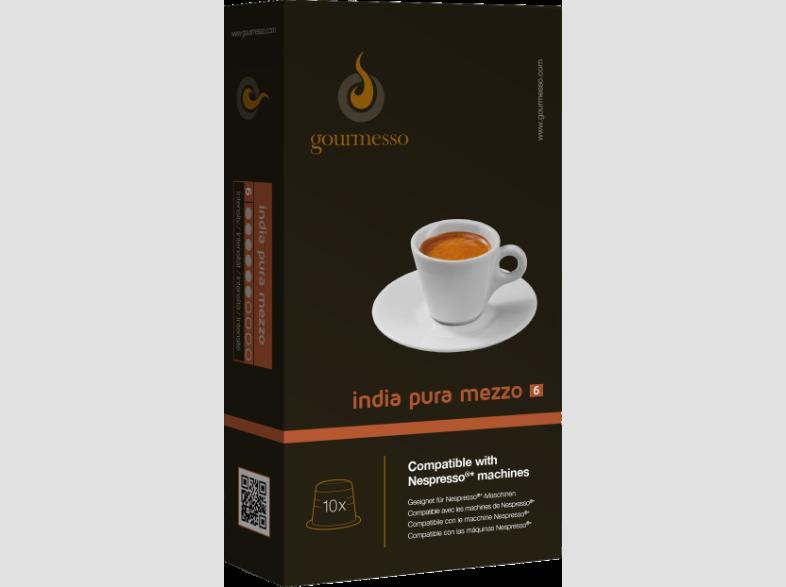 GOURMESSO INDIA PURA MEZZO kávékapszula Nespresso
