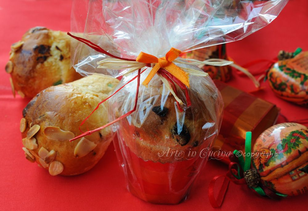 Panettoncini da regalare per Natale idea facile