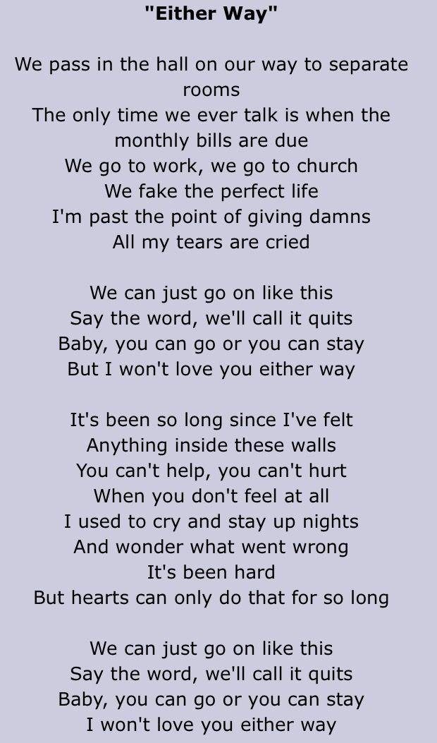 Lyric lyrics to tennessee whiskey : Chris Stapleton
