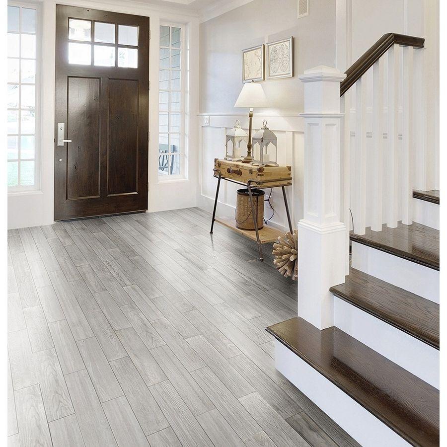 Shop Style Selections Eldon White Wood Look Porcelain
