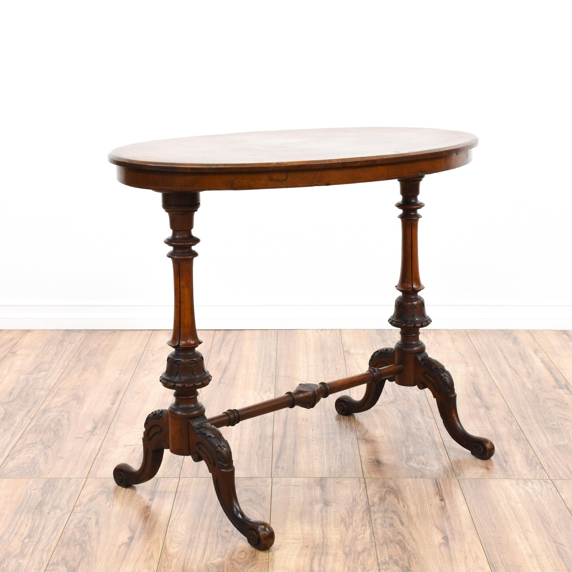 This victorian console table is featured in a solid wood with a this victorian console table is featured in a solid wood with a glossy dark cherry finish geotapseo Images