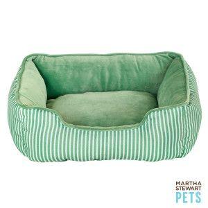 Martha Stewart Pets Striped Cuddler Pet Bed Beds Petsmart