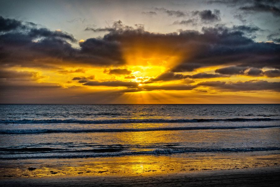 Sunset in Oceanside - November 3, 2013 by Rich Cruse on 500px