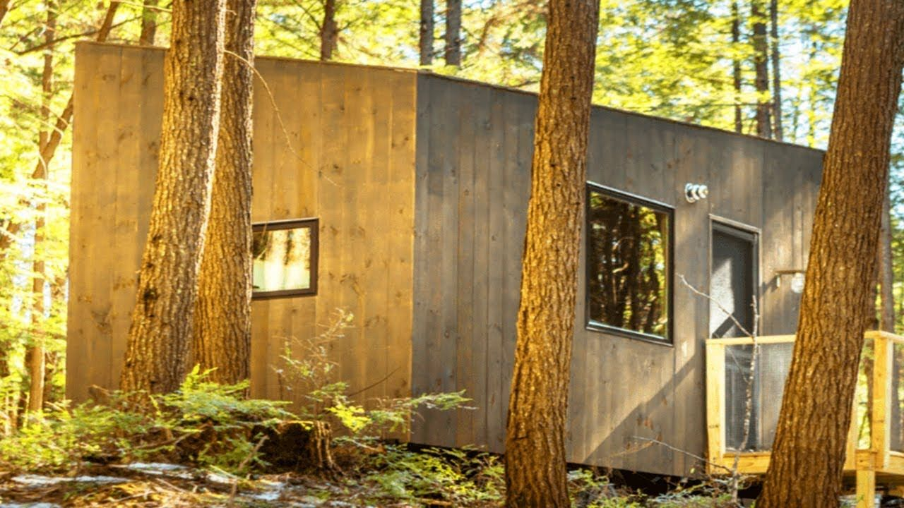 Miraculous Has It Allcustom Built Minimalist Tiny House In New Home Interior And Landscaping Oversignezvosmurscom